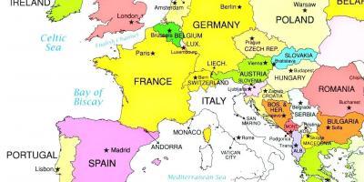 Portorose Slovenia Cartina Geografica.Portorose Slovenia Mappa Mappa Portorose Slovenia Europa Del Sud Europa